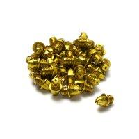 Reverse Pedal Pin Set 10.9 (24 Stk.) - Stahl - M4 - Gold