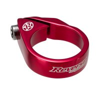 Reverse MTB Sattelklemme Bolt Clamp - 34,9 mm - Rot - 26 g
