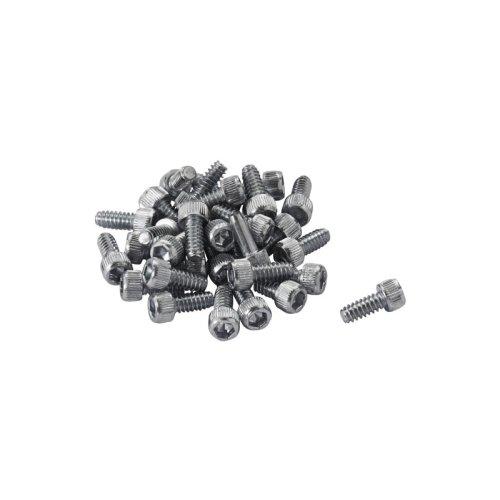 Reverse Pedal Pin Set Steel (32 Stk.) - Stahl - Ersatzpins für Escape Pro / BlackOne Pedal - US Size (ANSI 6-32)