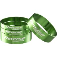 Reverse Spacer-Set (2x 5 mm / 2 x 10 mm) Alu - 1 1/8  -...