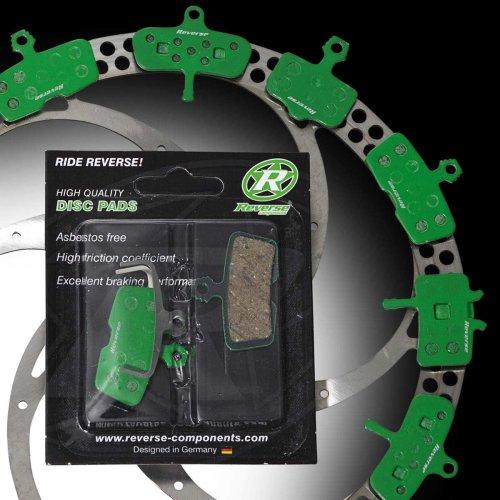 Reverse Bremsbeläge - für Avid X0 / X9 / X7 Trail / SRAM Guide R - Organisch