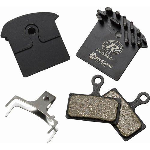 Reverse AirCon - Bremsbeläge mit Kühlrippen - für Shimano XTR (BR-M985) / XT (BR-M785) / SLX (BR-M666) / Alfine (BR-S700) - Organisch