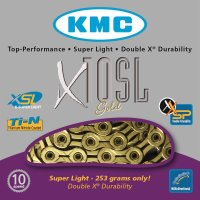 KMC Kette X-10-SL - 241 g pro 114 Glieder - 10-fach