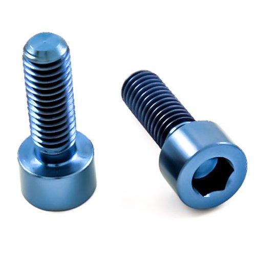 Titan Schrauben - Innensechskant Zylinderkopf - DIN 912 - Blau