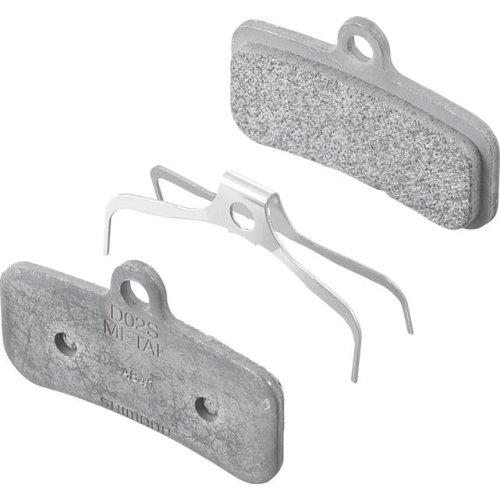 Shimano Bremsbelag-Metall D02SI inkl. Feder und Splint