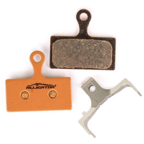 Alligator Bremsbeläge -  für Shimano XTR (BR-M9000) / XT (BR-M8000) / SLX (BR-M7000) / Alfine (BR-S700) - Organisch