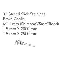 Alligator Rennrad-Bremszugset für Shimano / SRAM - Extra-lang