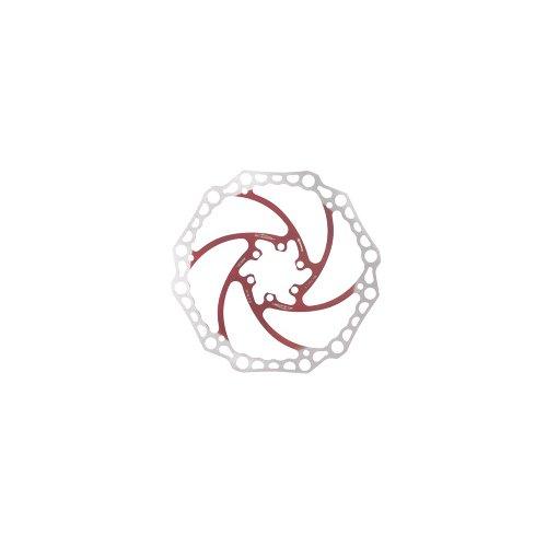 Alligator Bremsscheibe  Original - Rot / Silber