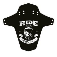 Reverse Mud Guard - für Gabel / Hinterrad - Ride F*cking...