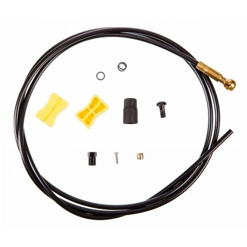 Shimano Bremsleitung Saint - SM-BH90-SBLS - (goldener Anschluss) - Ø 5,0 mm