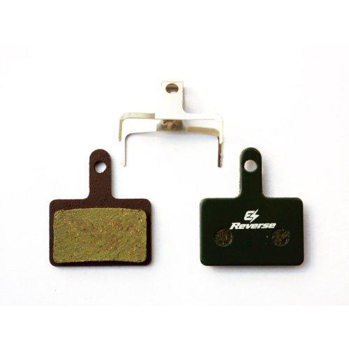 Reverse E-Bike Bremsbeläge Organisch -  für Shimano M515 / M475 / M525 / C501 etc.