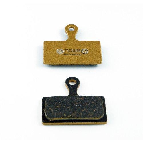 Now8 E-Bike Bremsbeläge - für Shimano XTR (BR-M985) / XT (BR-M785) / SLX (BR-M666) / Alfine (BR-S700) - Carbon