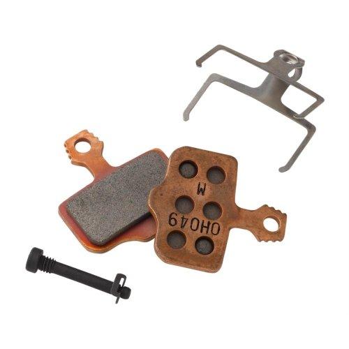 Avid Bremsbeläge - für Avid Elixir / SRAM XX / DB / Level - Organisch - Alu-Trägerplatte
