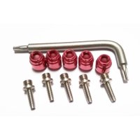SRAM Klemmring Hydraulikleitung Stealthmajig - Rot - 5...