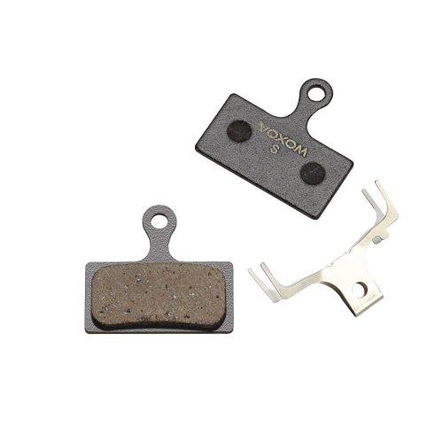 Voxom Bremsbeläge Bsc4 - für Shimano XTR (BR-M985) / XT (BR-M785) / SLX (BR-M666) / Alfine (BR-S700) - Semi-Metallisch