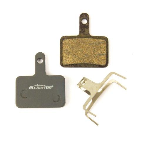 Alligator Bremsbeläge - für Tektro HD-M740 / M735 / M730 / M520 etc. - semi-metallisch