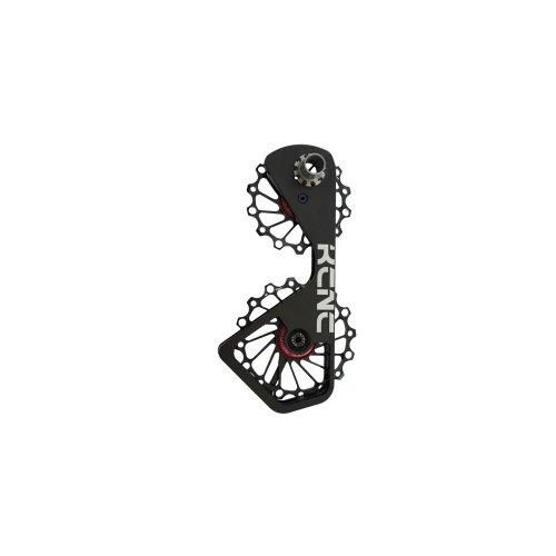 KCNC Alu Schaltwerkskäfig + Schaltröllchen für Shimano 10-/11-Fach