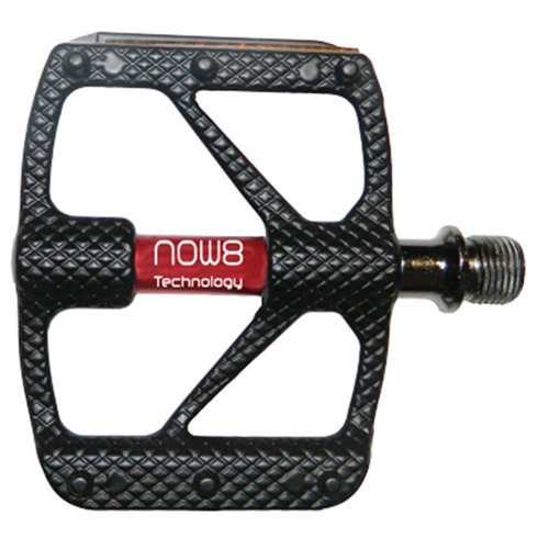 Now8 MTB Pedal M36 - Plattform mit Reflektoren - Aluminium