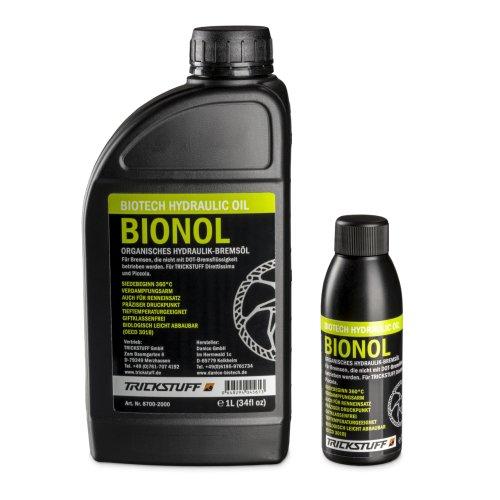 Trickstuff Bionol Pflanzenöl - für Mineralöl Scheibenbremsen