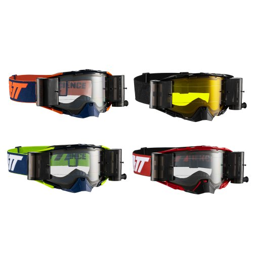 Leatt Goggle Velocity 6.5 mit Roll-Off-System