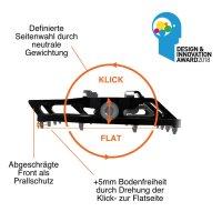Tatze Two Face Pedal - Plattform / SPD