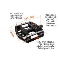 Tatze MC-AIR Pedal - Plattform
