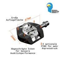 Tatze MC-FLY Pedal - SPD