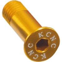 KCNC Alu 1 Paar Schaltröllchen-Schrauben Gold - 0,9g