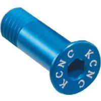 KCNC Alu 1 Paar Schaltröllchen-Schrauben Blau - 0,9g