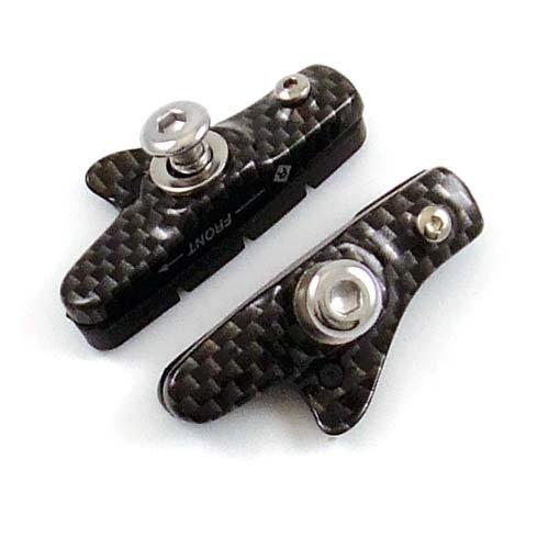 Alligator Bremsschuhe Aluminium Carbon-Look -  für Shimano Dura-Ace / Ultegra / 105