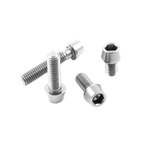 Beliebt Silber eloxierte Aluminium Schrauben konischer Kopf bestellen, 1,70 € JO98