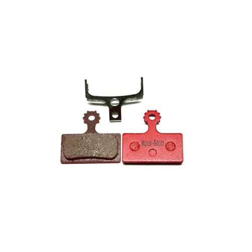 Kool Stop - Bremsbeläge für Shimano XTR (BR-M9000) / XT (BR-M8000) / SLX (BR-M7000) / Alfine (BR-S700) - Organisch