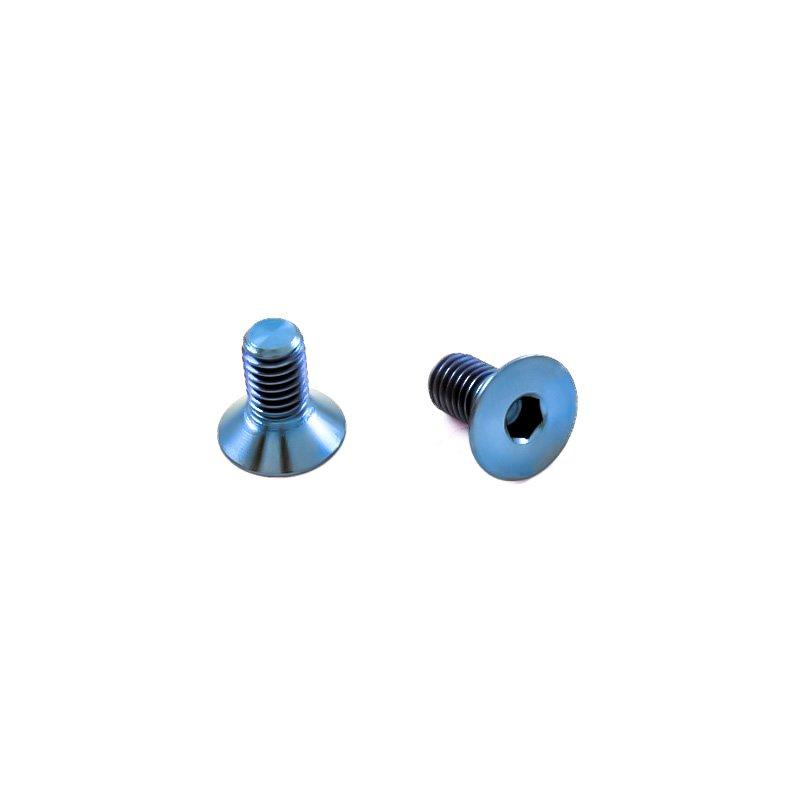 titan schraube m5 x 10mm innensechskant senkkopf blau 3 30. Black Bedroom Furniture Sets. Home Design Ideas